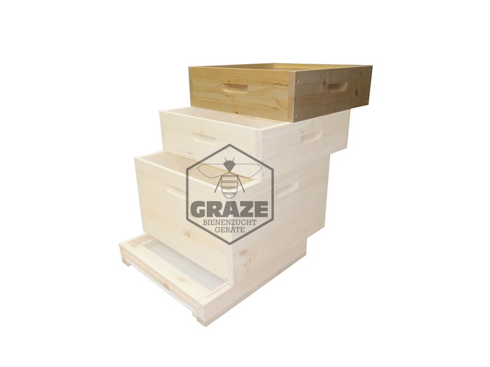 Honigraum 12 Rahmen US Dadant - Graze Imkershop